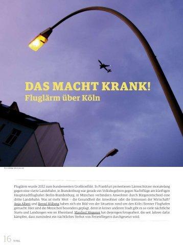 Das macht krank! - Bundesvereinigung gegen Fluglärm e.V.