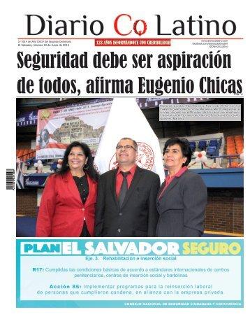 Edición 19 de Junio de 2015