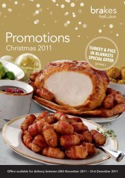 TURKEY & PIGS IN BLANKETS SPECIAL OFFER - Brakes