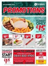 promotions brochure - Brakes