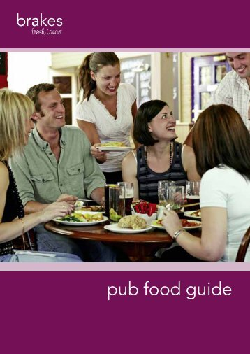 pub food guide - Brakes