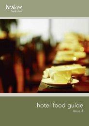 Hotel Food Guide - Brakes