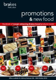 promotions - Brakes