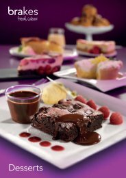 Download our desserts brochure - Brakes