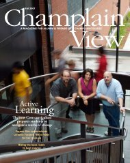 Learning - Champlain College