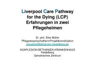 Liverpool Care Pathway for the Dying (LCP ... - Ostalb-Klinikum