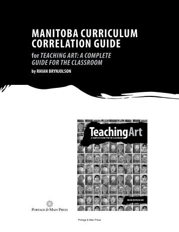Manitoba Curriculum Correlation Guide - Portage & Main Press