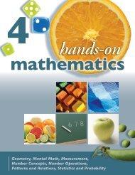 Hands-On Mathematics, Grade 4 Sample - Portage & Main Press