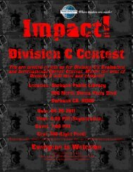 Contest Flyer Division C (pdf) - District 52 Toastmasters