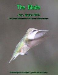 2012 newsletter (2.1 MB) - Hoosier Outdoor Writers