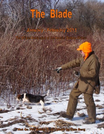 January/February 2011 newsletter (2.4 MB) - Hoosier Outdoor Writers