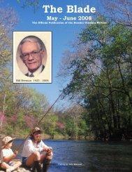 May/June 2008 newsletter - Hoosier Outdoor Writers