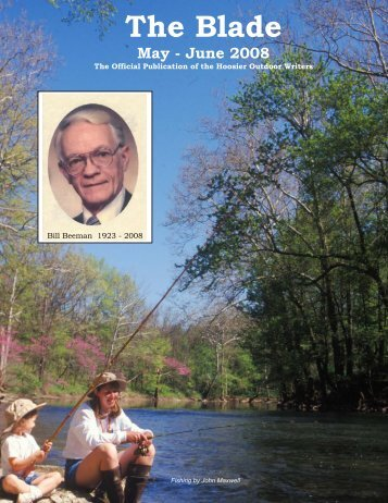 May/June 2008 newsletter - Hoosier Outdoor Writers