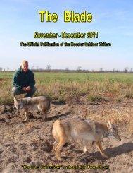 November/December 2011 newsletter - Hoosier Outdoor Writers