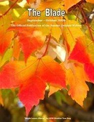 September/October 2009 newsletter - Hoosier Outdoor Writers