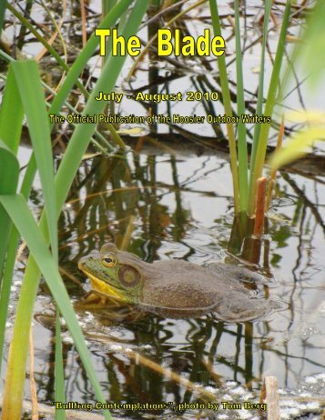 July/August 2010 newsletter (1.7 MB) - Hoosier Outdoor Writers