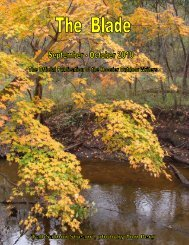 September/October 2010 newsletter - Hoosier Outdoor Writers