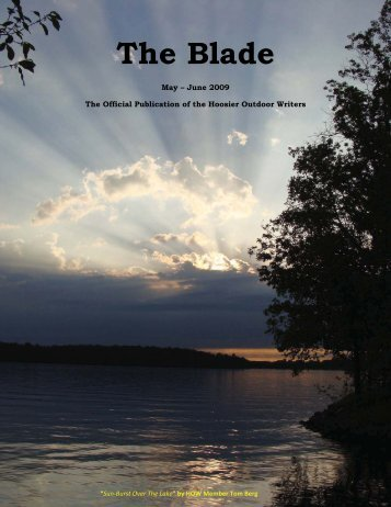 May/June 2009 newsletter - Hoosier Outdoor Writers