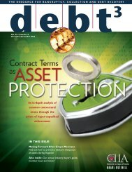 Contract Terms as Asset Protection - cook collection attorneys