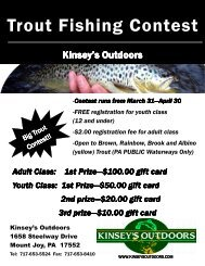 Trout Flyer - Kinsey's Outdoors