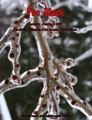January/February 2010 newsletter (2 MB) - Hoosier Outdoor Writers