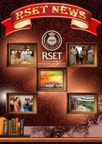 RSET NEWS May -Oct 2011 Issue II - Rajagiri School of Engineering ...