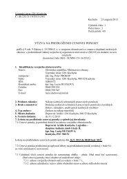 Nákup osobných ochranných pracovných pomôcok - Ministerstvo ...
