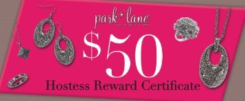 Hostess Reward Certificate - Park Lane Jewelry