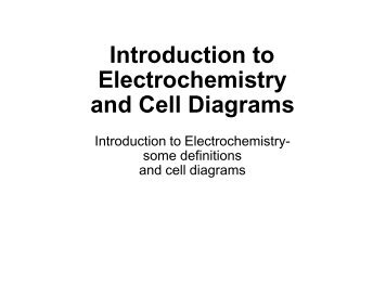 Chapter 23 electrochemistry voltaic cells cell kurtniedenzu ccuart Gallery