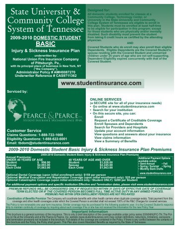 State University & Community College System of Tennessee