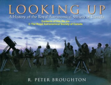 Looking Up - Royal Astronomical Society of Canada