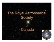 and BPC member - RASC National - The Royal Astronomical ...