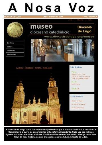 Febreiro de 2011. Museo Diocesano - Onde ... - Diócesis de Lugo