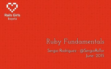 Rails-Girls-Ruby-Fundamentals