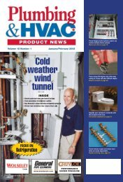 Cold weather wind - Plumbing & HVAC