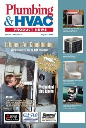 June 2006 - Plumbing & HVAC