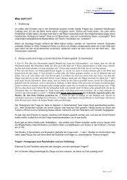 Unterlagen zur Predigt - equipping-the-saints.net