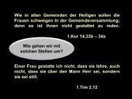 Folien zur Predigt - equipping-the-saints.net