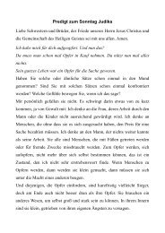 10.04.2011 Predigt zu Judika 2011 zu 1. Mose 22, 1 - Evangelische ...