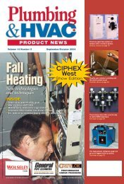 CIPHEX West - Plumbing & HVAC