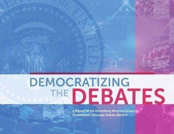 Democratizing-The-Debates