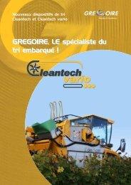 Cleantech vario_0812.qxp - Gregoire Group : Grégoire (machine à ...