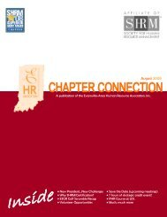 August 2009 - Evansville-Area Human Resource Association