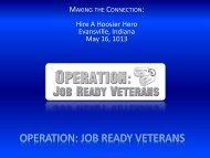 Operation Job Ready Vets