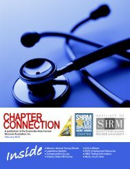 A publication of the Evansville-Area Human Resource Association ...