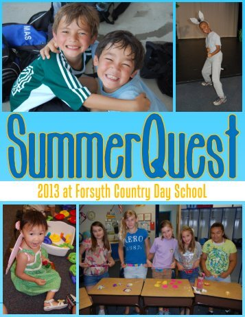Course Catalog - Forsyth Country Day School