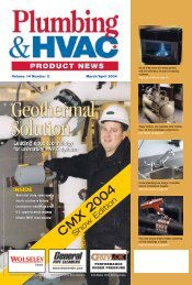 CMX 2004 - Plumbing & HVAC