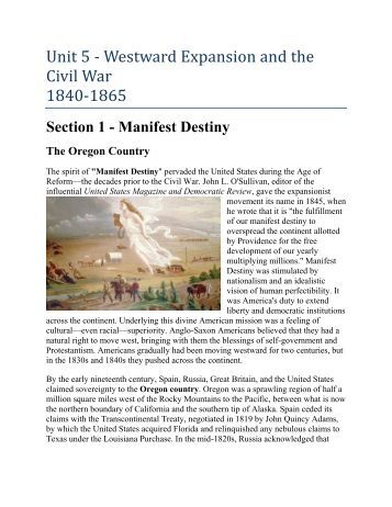 westward expansion and the civil war Read access to history: america: civil war and westward expansion 1803-1890 fifth edition by alan farmer with rakuten kobo exam board: aqa, edexcel, ocr .