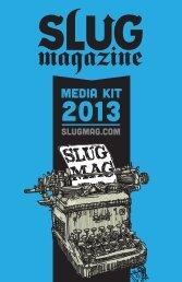 MEDIA KIT - SLUG Magazine