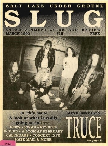 Download issue as PDF - SLUG Magazine